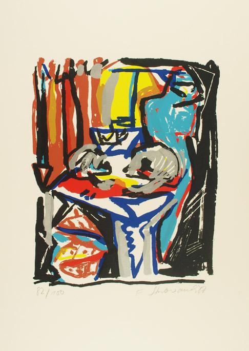 Franziska Stubenrauch - Farbserigrafie 1987/88