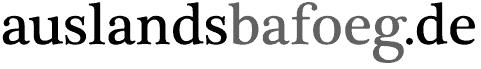 Auslands Bafoeg Logo
