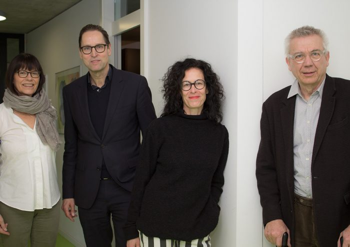 Dr. Luise Wagner, Dr. Dirk Luckow , Claudia Fischer-Appelt, Prof. Dr. Hannes Böhringer