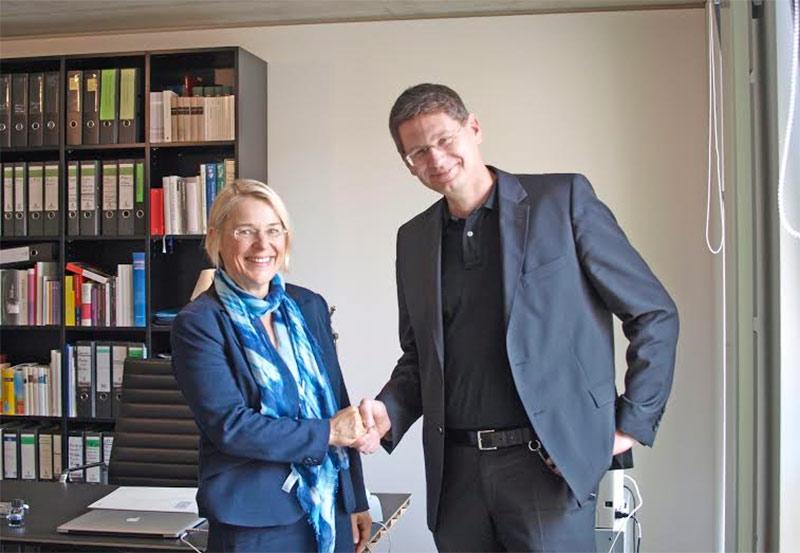 begrüßt Kristin Alheit ,neue Wissenschaftsministerin