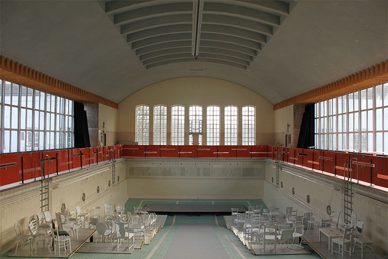 21 19 h stadtgalerie lessingbad kiel eine for Interior design kiel