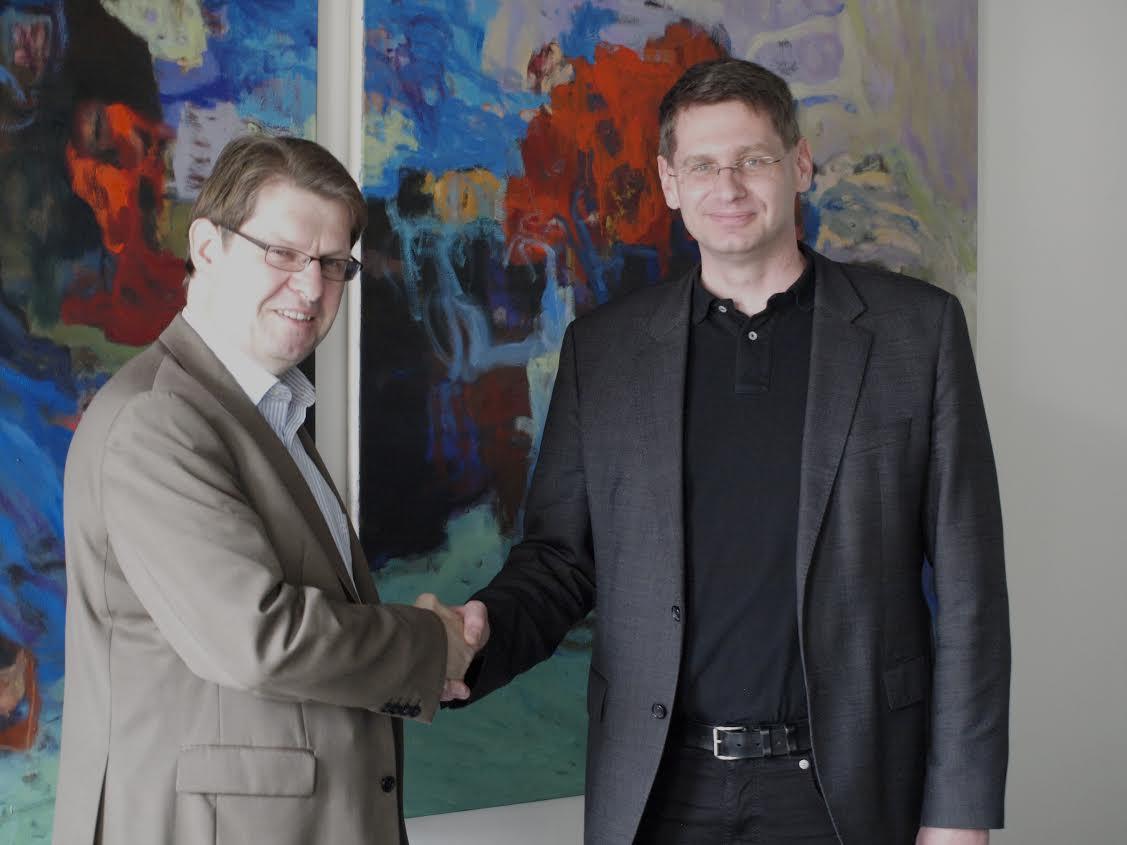 Dr. Ralf Stegner und Dr. Arne Zerbst