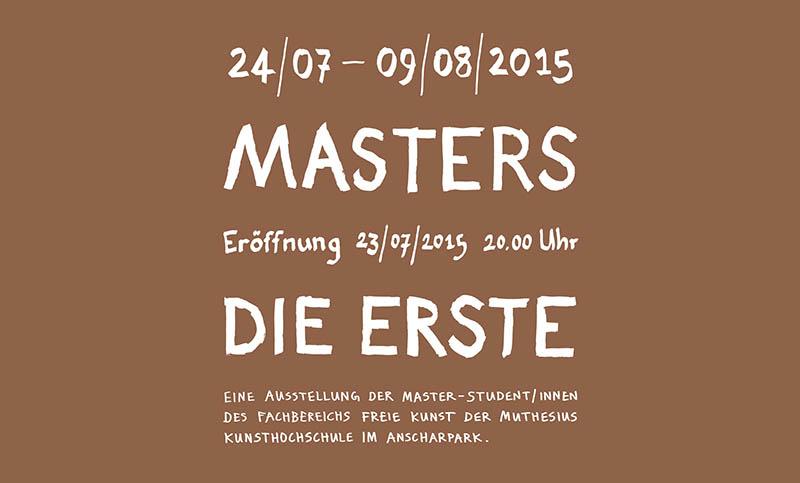 Master- die Erste