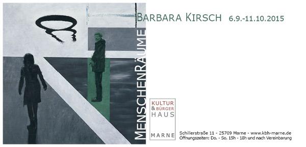 Barbara Kirsch Einladung