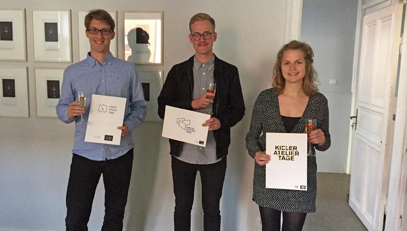 Neues Logo der Kieler Ateliertage entstand an der Muthesius Kunsthochschule