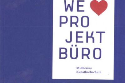 """""""we love projektbüro"""" Hrsg. Sasse und Juchter"""