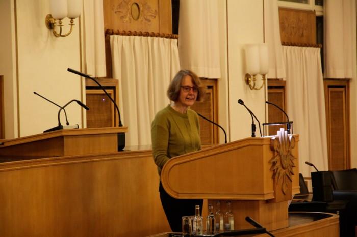 """Vortrag Christiane Kruse """"Kunst überwindet Grenzen"""""""