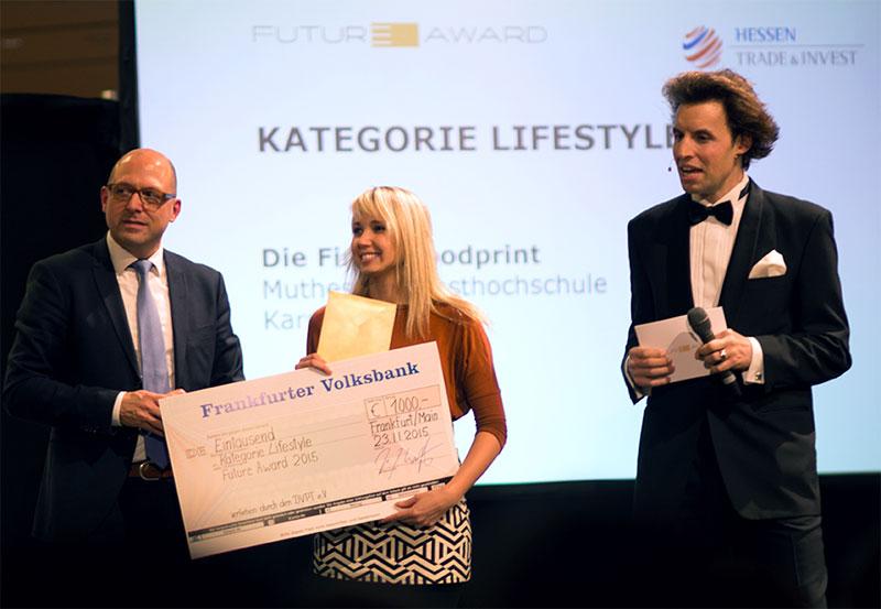 Zukunftsszenario aus der Muthesius Kunsthochschule mit dem Future Award ausgezeichnet