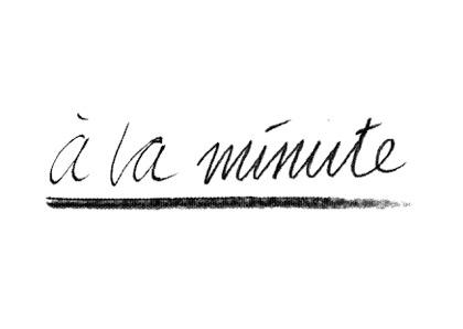 Ausstellung á la minute
