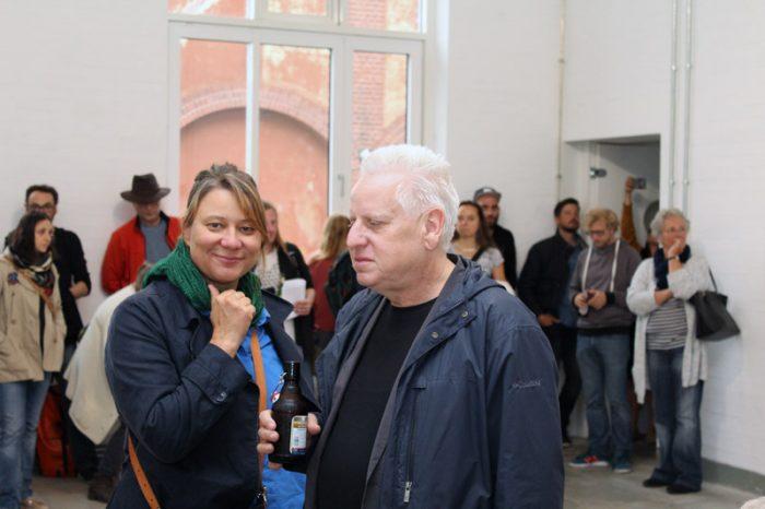 Prof.in Antje Majewski und Prof. Arnold Dreyblatt
