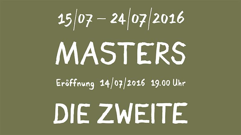 MastersdieZweite