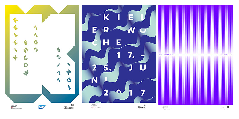 Kieler Woche Plakatentwürfe