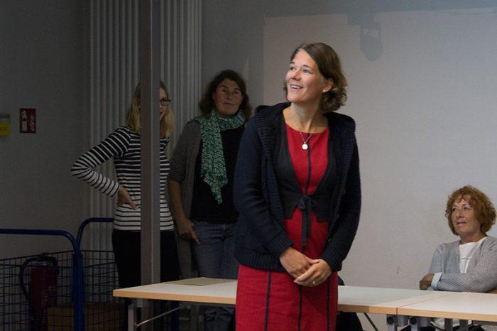 Katrin Josam aus dem Studierendensekretariat