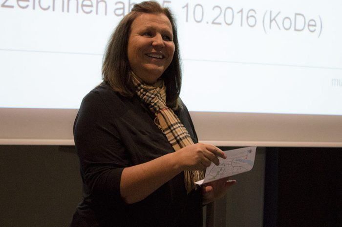 Gisela Rosenberger aus dem Studierendensekretariat