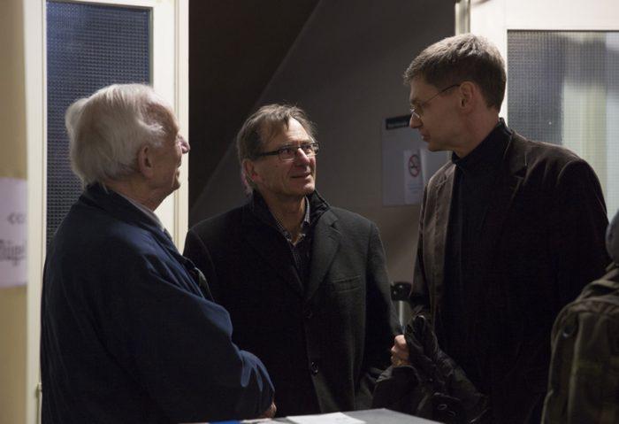 Herr Jarcho, Rainer Kraatz, Arne Zerbst