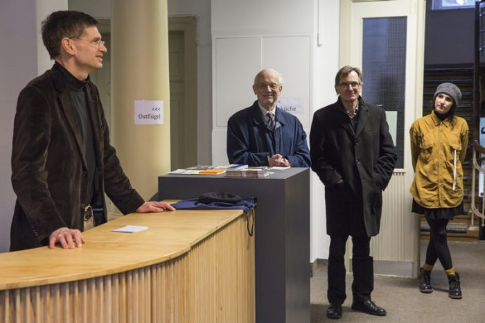 Rede Dr. Arne Zerbst (Foto: Esteban Pérez Concha)