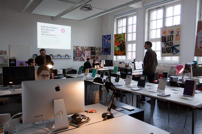 Studieninfotag 2017- Im Projektbüro