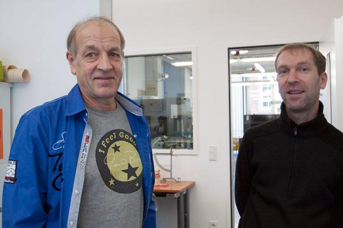 Druckwerkstatt - Studieninfotag 2017- Roland Spreth, Marko Zenz-