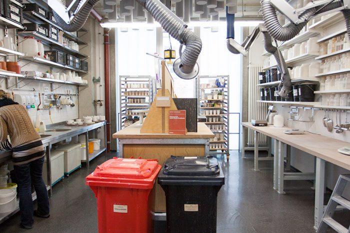 Studieninfotag 2017- Werkstatt Keramik