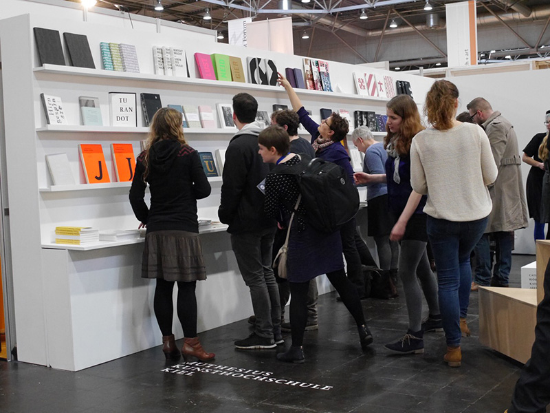 Muthesius Kunsthochschule auf der Buchmesse Leipzig