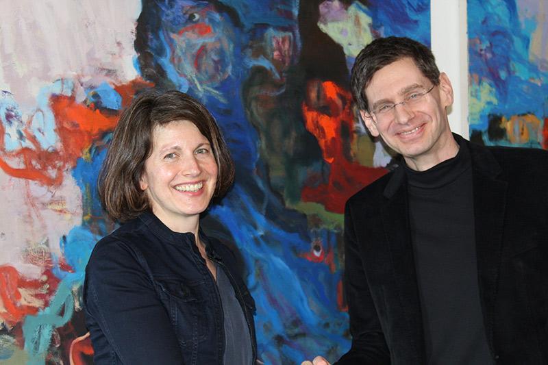 Frau Dr. Sandra Schramke und Dr. Arne Zerbst