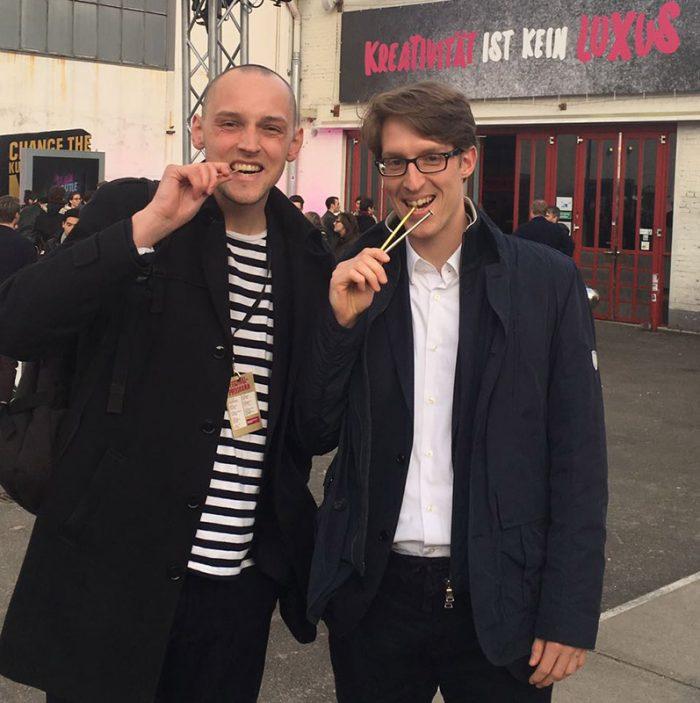 Philipp Schättler und Conrad Witten