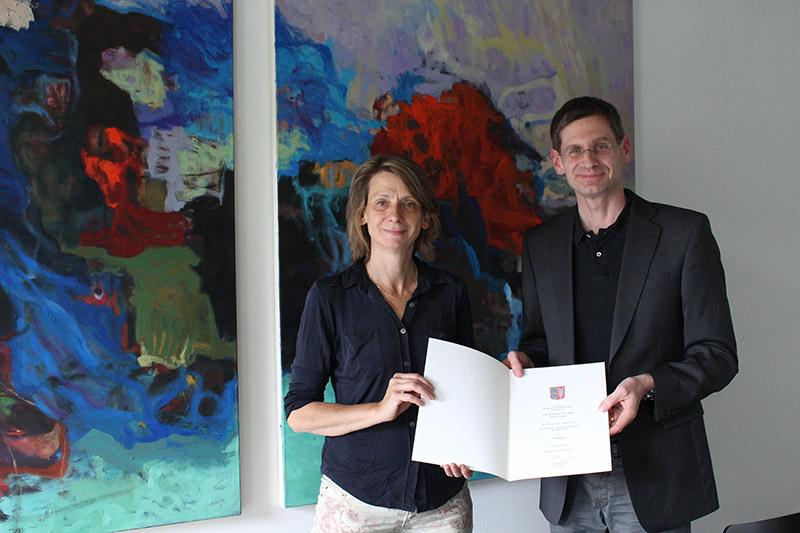 Prof.in Dr. des. Almut Linde und Arne Zerbst