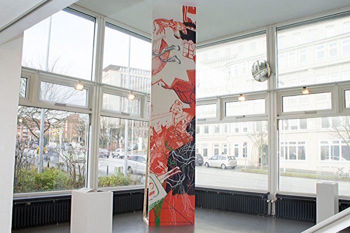 Gastspiel: Junge Kunst aus der Muthesius Kunsthochschule