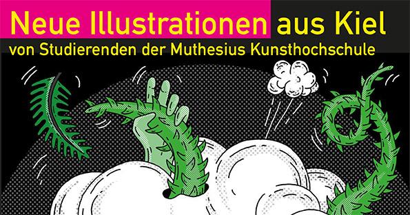 Neue Illustrationen aus Kiel