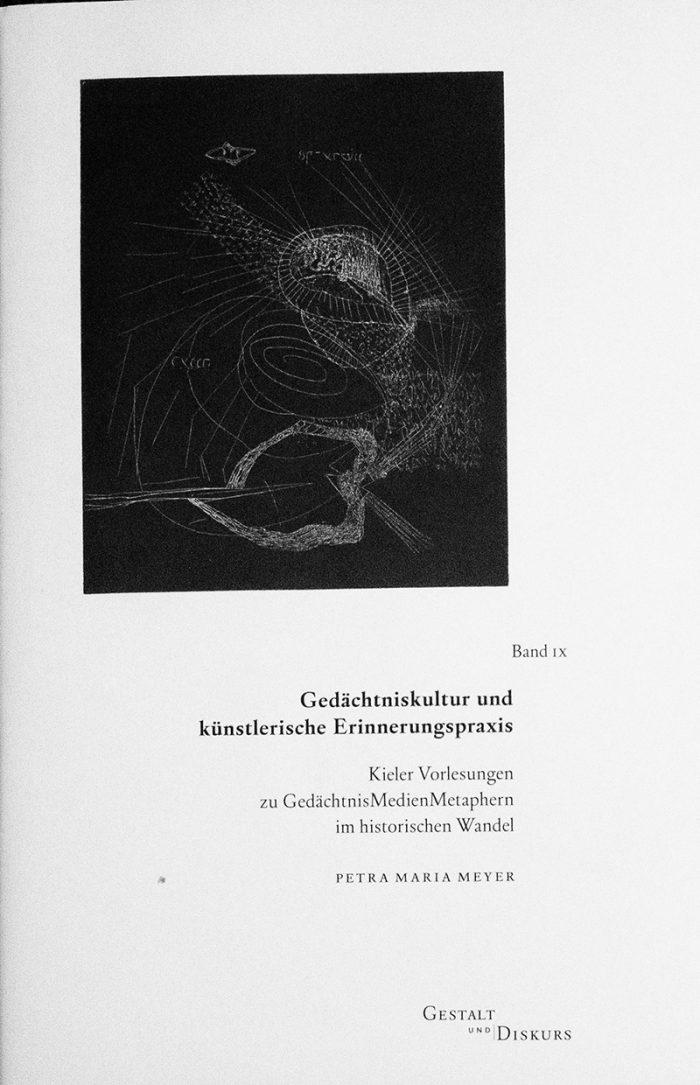 Gedächtniskulturen und künstlerische Erinnerungspraxis