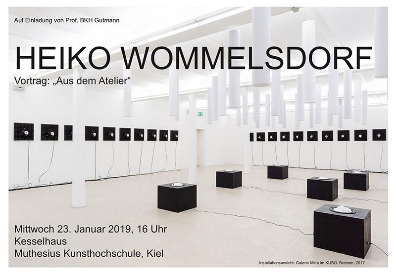 Heiko Wommelsdorf - Aus dem Atelier