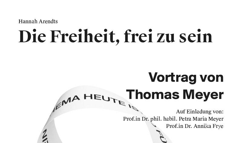 Vortrag Thomas Meyer