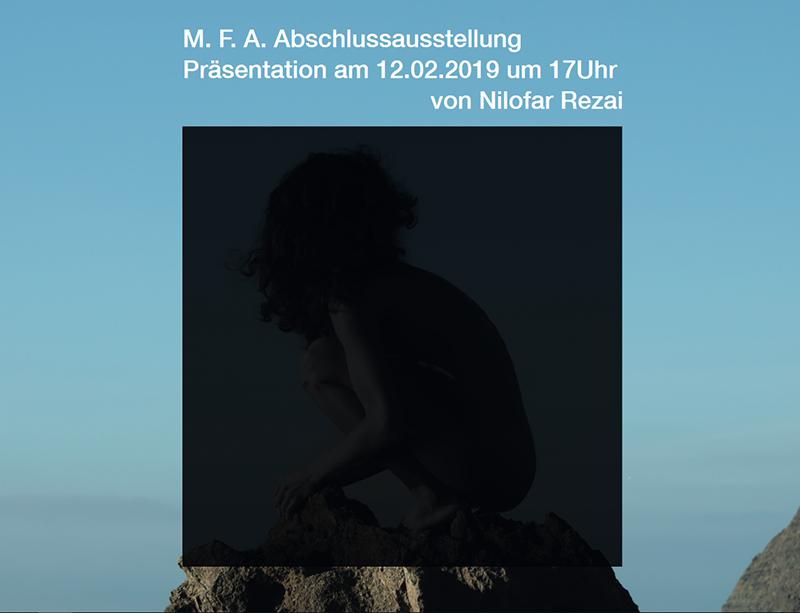 Abschlussausstellung Nilofar Rezai