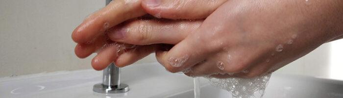 Coronavirus- Händehygiene zur Virenabwehr (Foto: Maike Brzakala)