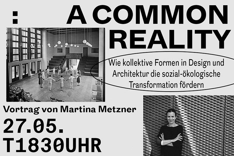 A COMMON REALITY von Martina Metzner, Fotos M. Metzner: Jason Sellers und Bartning Archiv