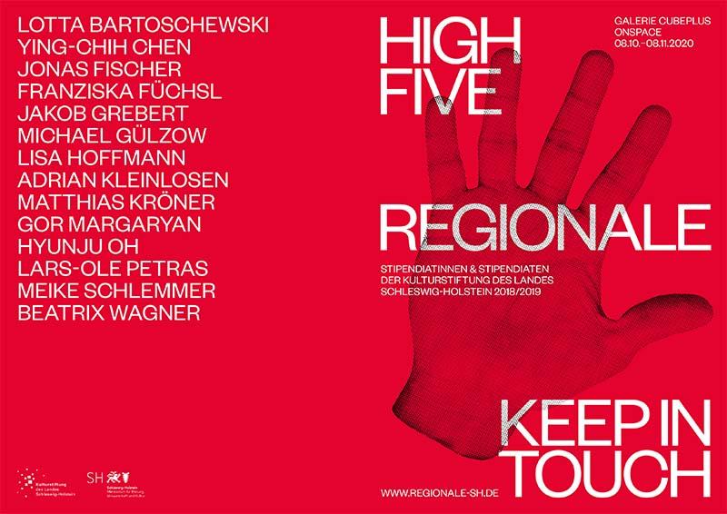 Flyer zur Regionale 5